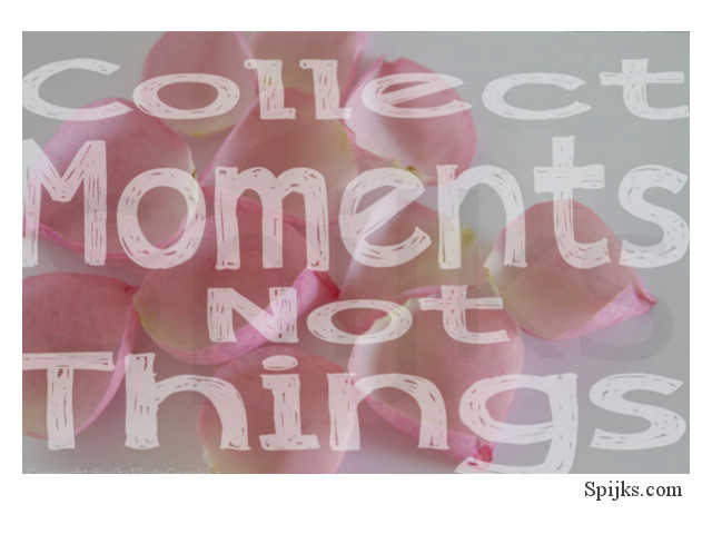 Spijks Quote Collect moments